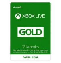 XBOX LIVE GOLD 12 HÓ