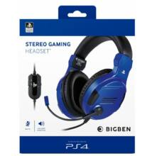 STEREO GAMING HEADSET KÉK