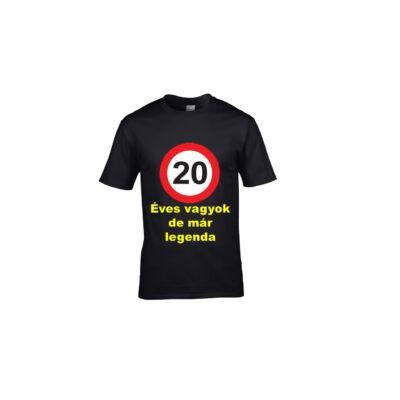 20 ÉVES VAGYOK DE MÁR LEGENDA