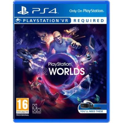 PLAY STATION VR WORLDS